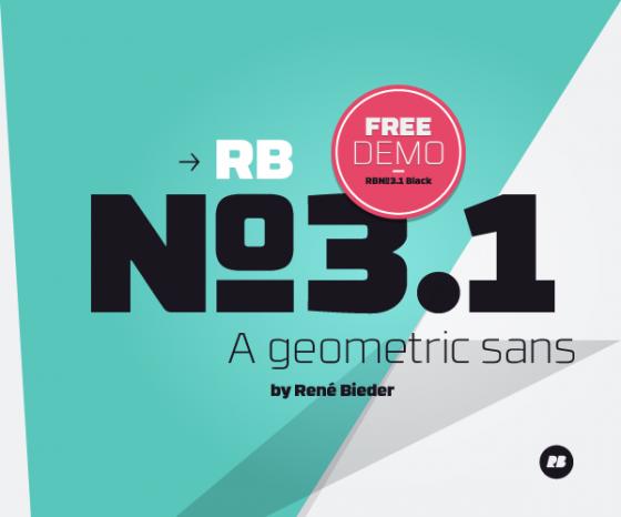 RBNo3.1 Font