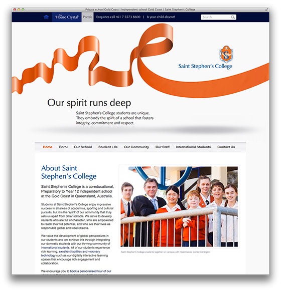 Saint Stephens College Website