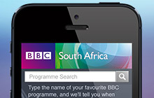 BBC HUBS mobile website design