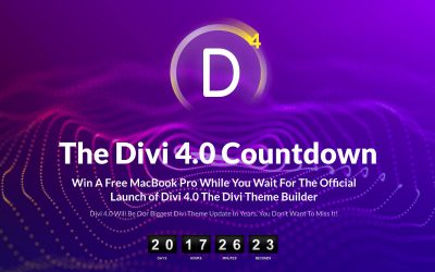 Divi 4 WordPress Theme Launch Date Announced
